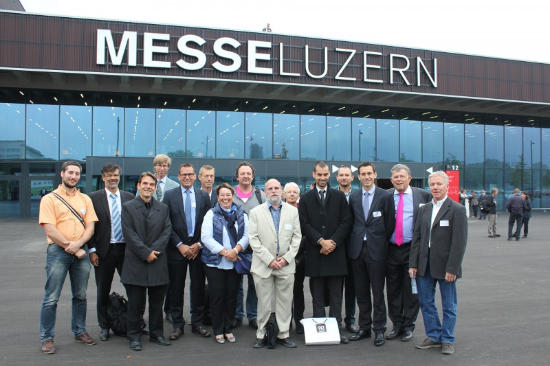 2014 Solar Award ceremony in Lucerne